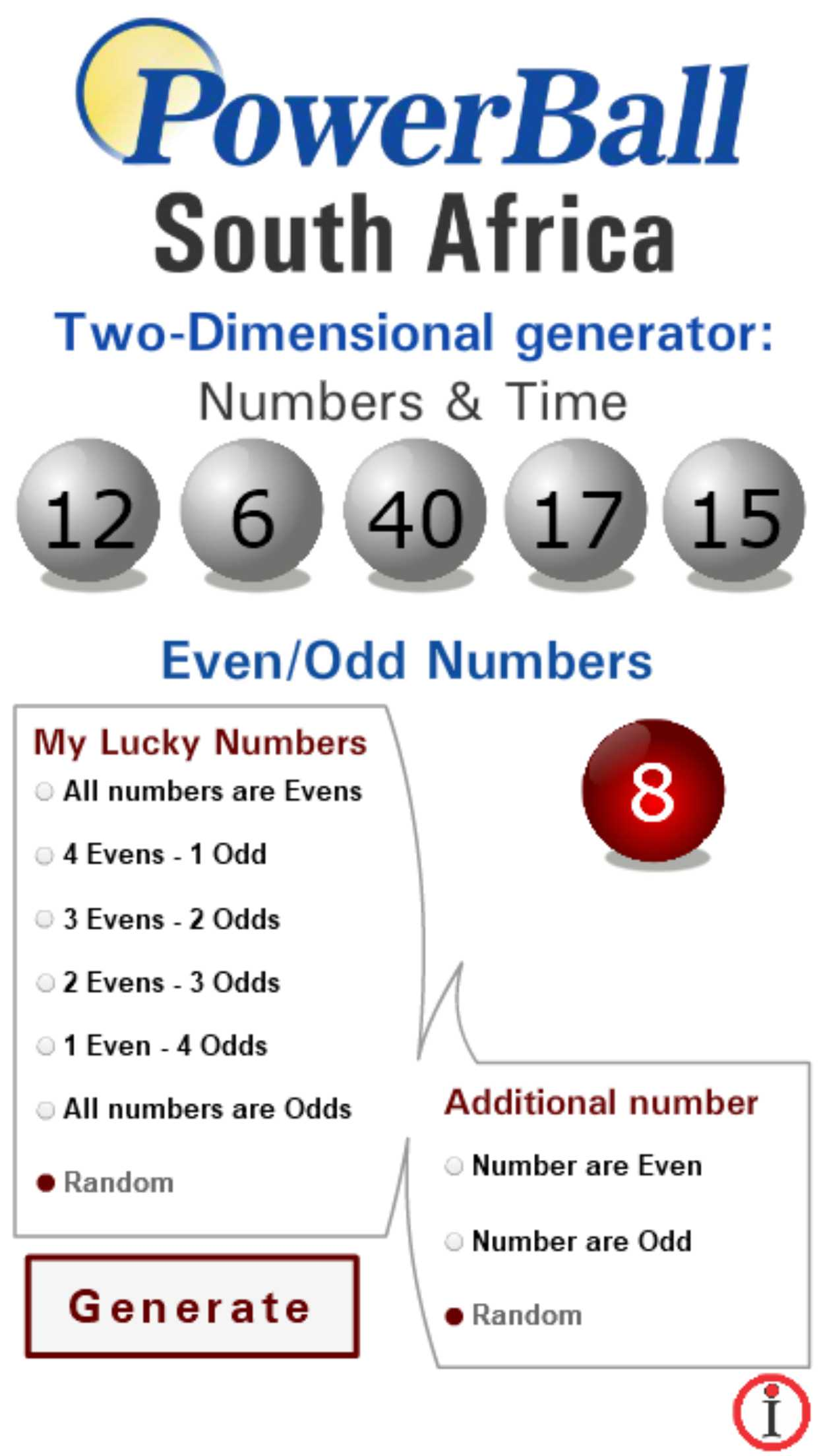 Powerball statistics
