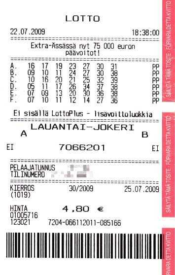 Finland lottery veikkaus lotto - game rules + instruction: how to play from Russia