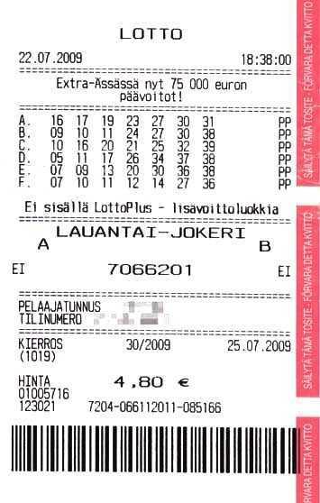 Finland Lottery Veikkaus Lotto - Règles du jeu + instruction: comment jouer depuis la Russie