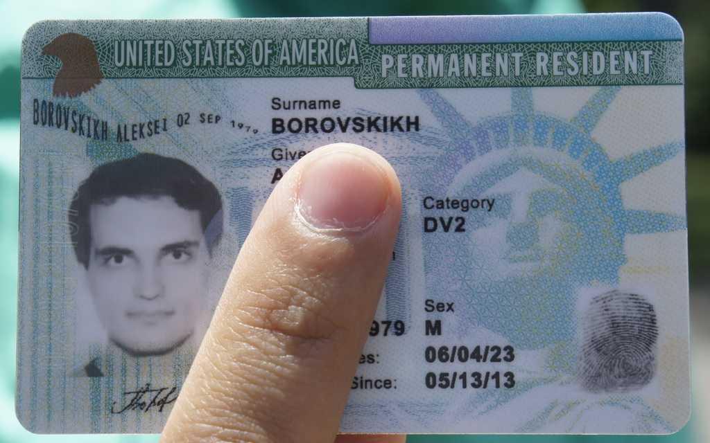 Minden információ az USA-ban található zöld kártyáról