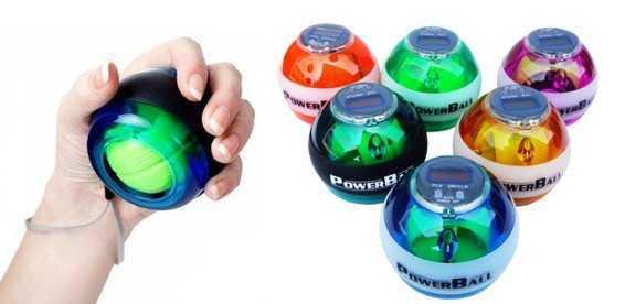 Тренировки с powerball
