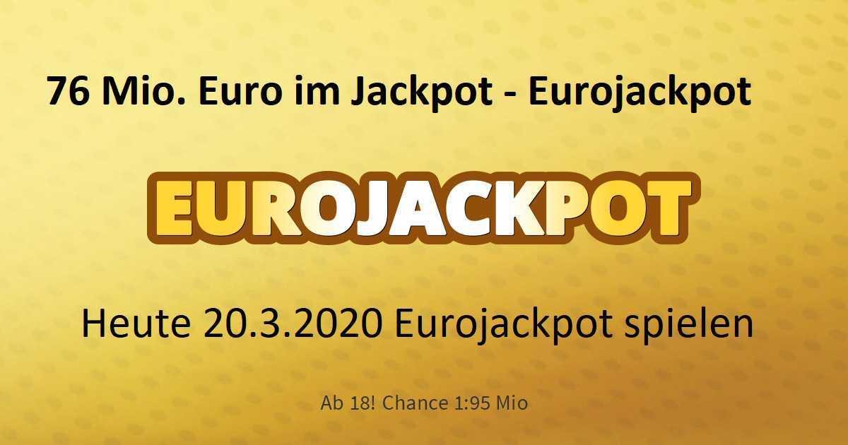 Der eurojackpot: kosten, spielregeln und chancen