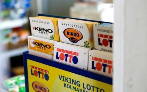 Észt lottó vikinglotto (6 из 48 + 1 nak,-nek 8)