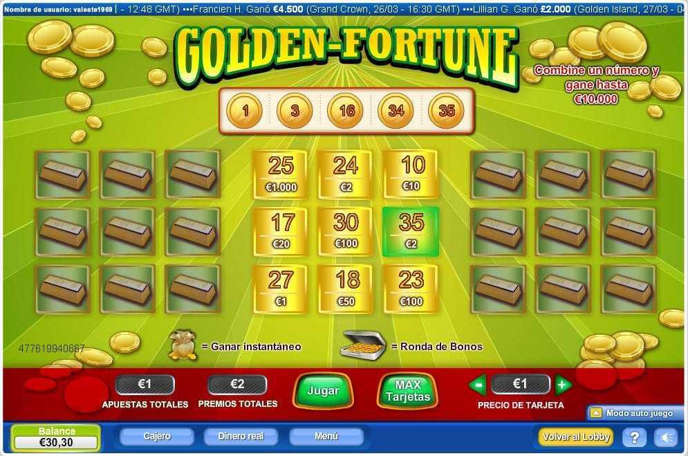 Loterías gratis