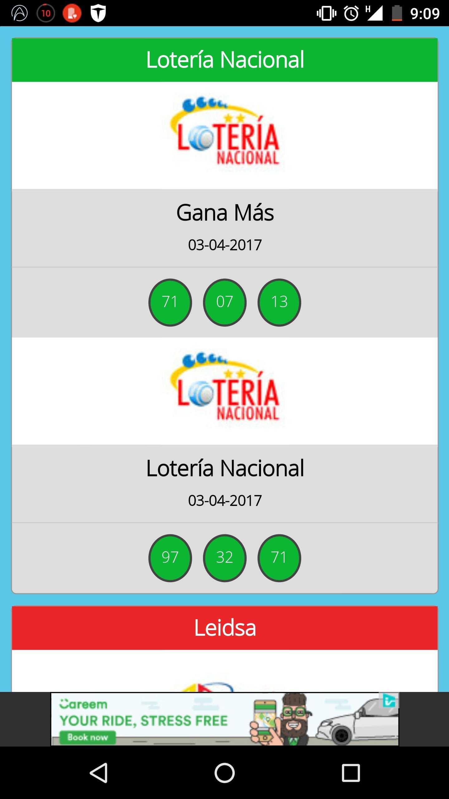Loterias - últimos resultados | resultados loterias