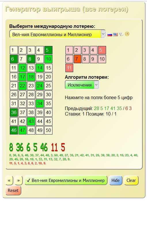 Bonoloto – одна из самых известных лотерей испании