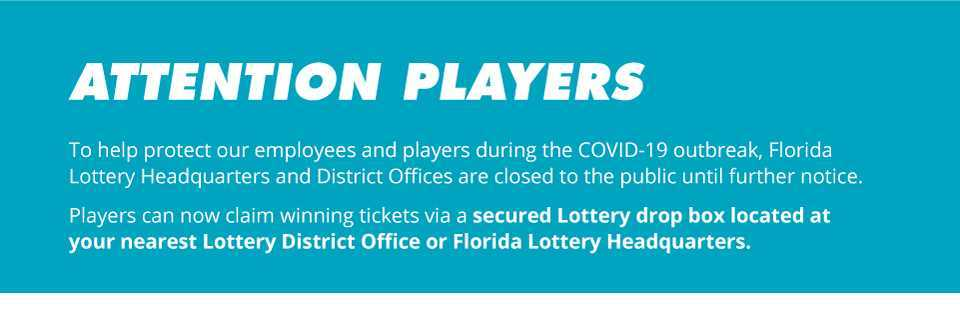 Florida lottery - how to claim