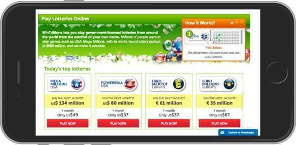 Gigalotto - oben 10 bestes Online Lotto