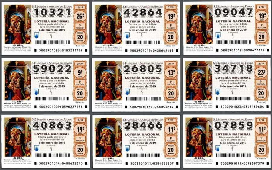 Xổ số Tây Ban Nha bán chạy nhất | xổ số lớn