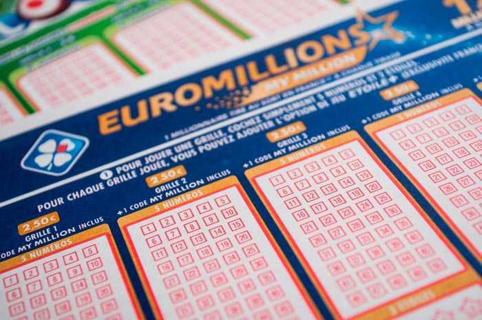 Euromillions lotto archive for 2018 year
