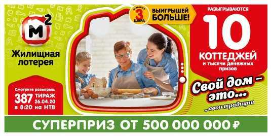 Russian Lotto Express Draw 23 check ticket by number | lottery results