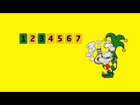 Eurojackpot europæisk lotteri (5 из 50 + 2 af 10)