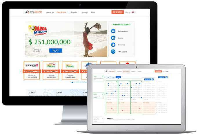 Play canadian lottery online - lotto agent