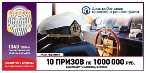 Russian Lotto - ตรวจสอบตั๋ว