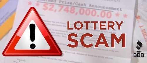Online lottery winners