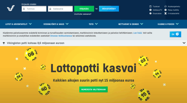 Europe lotteries