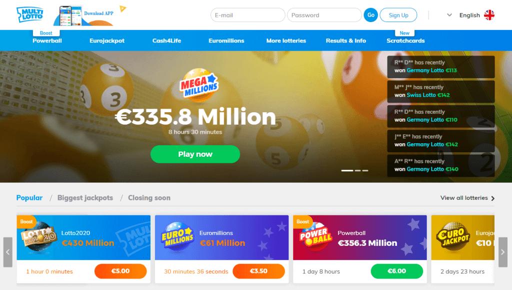 Ist es möglich, der Blockierung einer Lotterie-Internetressource irgendwie zu entkommen?: Algorithmus | große Lottos