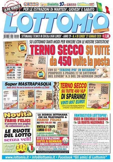Extractions de lots et systèmes, superenalotto, 10elotto, euro jackpot