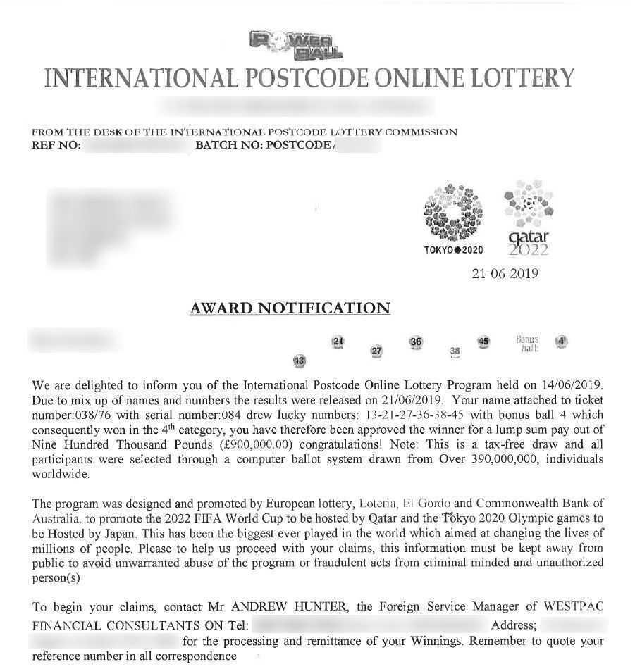 Gagnants de loterie - billets et service de paris en ligne