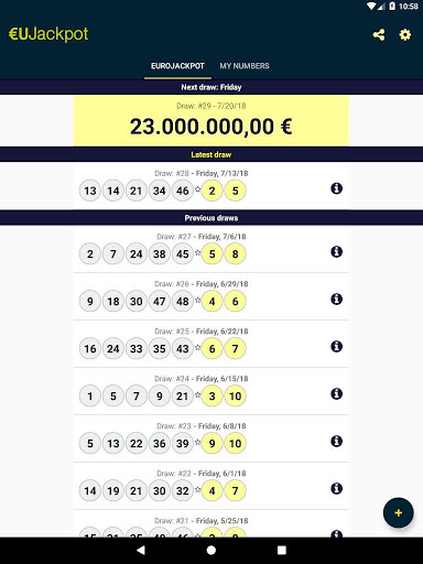 Juega eurojackpot online: comparación de precios en lotto.eu