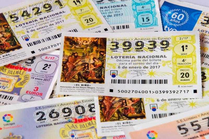 "Xổ số Tây Ban Nha & quot; loteria de navidad"" - cách mua vé từ Nga"
