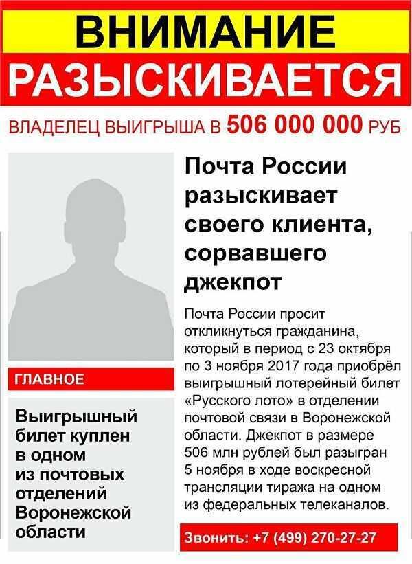 Jackpot im russischen Lotto: was ist heute, wie man gewinnt und was es ist