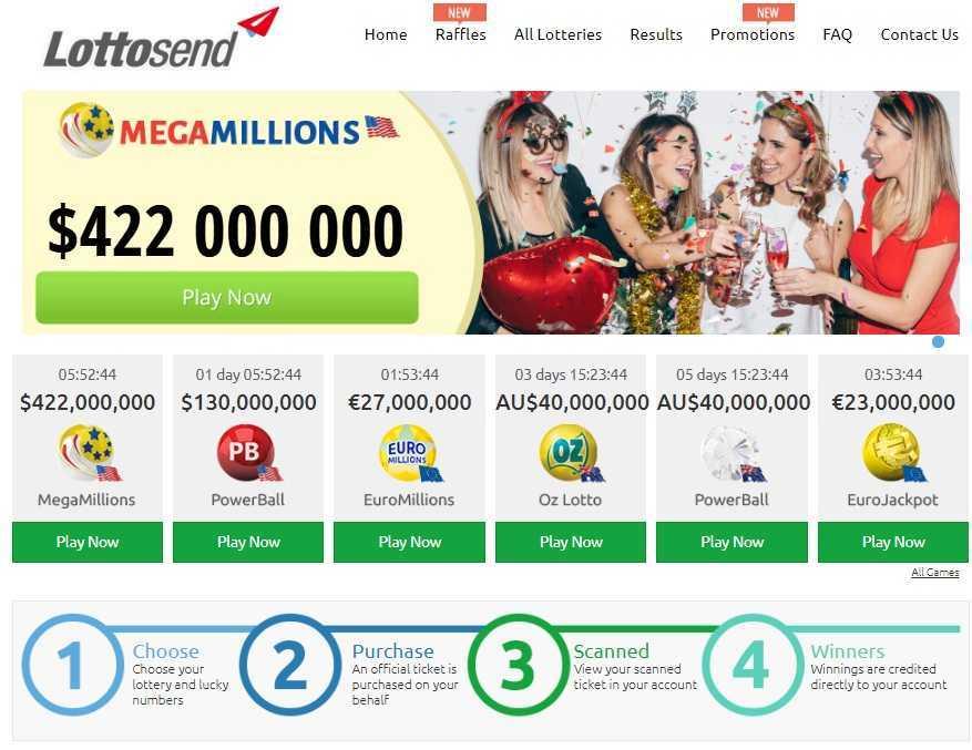 Play mega millions lottery online