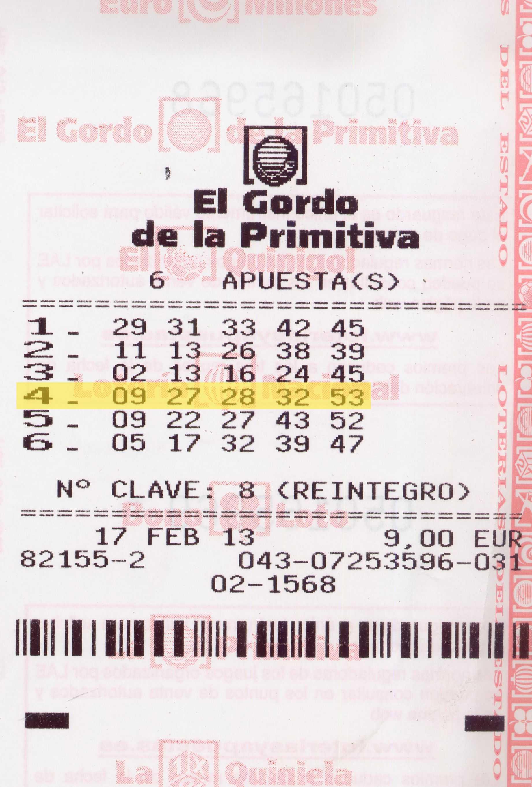 Официальный сайт лотереи el gordo de la primitiva – время и результаты розыгрышей, билеты и отзывы | big lottos