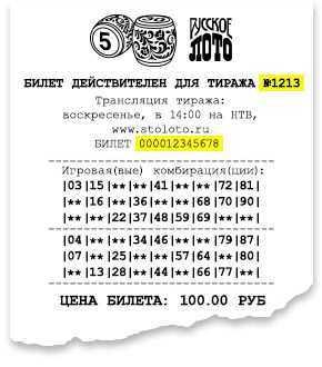 Sportloto. Sofortlotterien. die berühmtesten russischen Lotterien: Bewertungen und Bewertung.