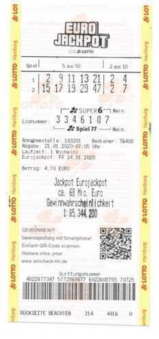 Eurojackpot | det største offisielle lotteriet i Europa